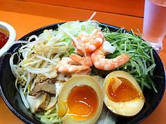 ランチ:つけ麺ボリューム@二丁目ラーメン・港・福岡