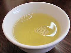 料理:ジャスミン茶@竹園・百年橋店
