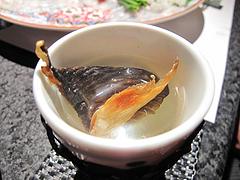17和食:ヒレ酒@英二楼・河豚料理・海鮮居酒屋
