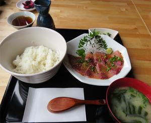 14ごまカンパチ定食880円@博多ハウス