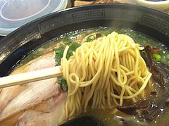 ランチ:しょうゆ豚骨らーめん麺@博多ラーメン龍人・赤坂