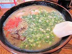 料理:ラーメン550円@博多長浜ラーメンいってつ・大橋