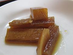ランチ:大根の醤油漬け@本格中華料理・翔悦・樋井川
