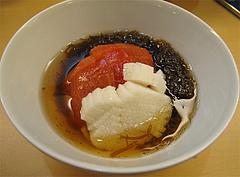 12居酒屋:もずくトマト@和食・おばんざい・和さび・京都