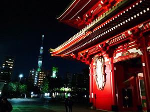 3スカイツリー@どぜう飯田屋