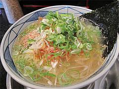 料理:ねぎらーめん(塩)680円@らーめん・ゆきみ家