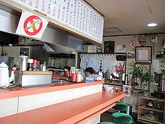 2店内:カウンター席のみ@清陽軒・若久店