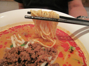 11特製担々麺メン@チャイニーズキッチン真心シンシン
