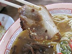 料理:ラーメンチャーシュー@金龍食堂・親富孝通り・天神