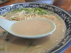 1ランチ:ラーメンの豚骨スープ@博多ラーメン・げんこつ