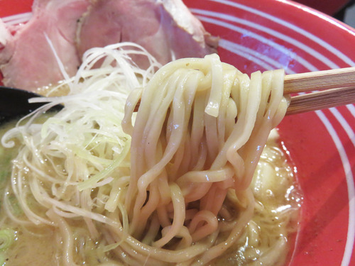 8鶏白湯ラーメン麺