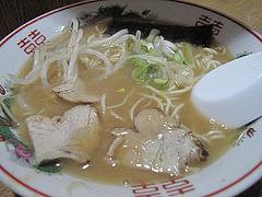 料理:みそラーメン550円@永楽ラーメン・小倉