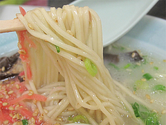 料理:ラーメン麺@鳳凰(ほうおう)・飯倉
