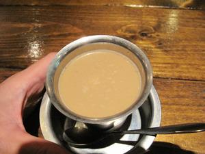 21インディアンコーヒー200円+マサラ100円@葉菜