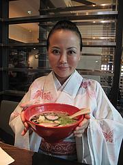 ランチ:醤油とんこつ麺@ラーメン・博多五行・今泉