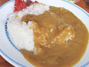 17カレー定食カレーライス@はいから亭