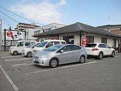 16外観:駐車場@伊万里ちゃんぽん・福岡博多店