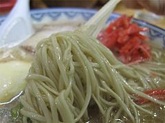 料理:ラーメン麺@赤のれん節ちゃんラーメン住吉店