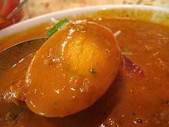 ランチ:キーマカレーの玉子@本場インド料理の店D.カジャナ・大手門店