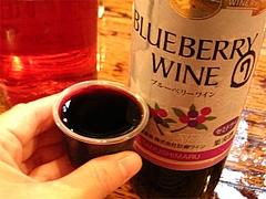 料理:ブルーベリーワインのセミドライ・ワイン試飲販売所@田主丸・久留米