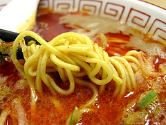 料理:激辛レッドドラゴン麺@元祖長浜・拉担麺・博多麺屋・ゆず