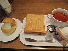 料理:トーストセット+ルンルンパン@ベークショップ・イワハシ・薬院店