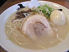 8ランチ:もやしラーメン380円+煮玉子100円@七福亭ラーメン・七隈
