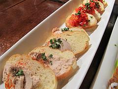 8パーティー:前菜カナッペ@オリエンタルレストラン・サラマンジェ・キャナルシティ博多
