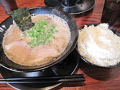 11ランチ:Aランチ・ラーメン+ご飯おかわり自由650円@博多一双・博多駅・ラーメン