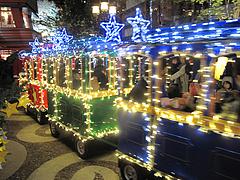 2外観:イルミネーション・花電車@オリエンタルレストラン・サラマンジェ・キャナルシティ博多