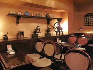 3テーブル席@喫茶ライムライト