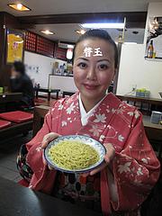 16ランチ:替玉50円@博多ラーメンしばらく祇園店