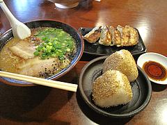 7ランチ:おにぎり定食680円@みゆき屋・ラーメン・七隈