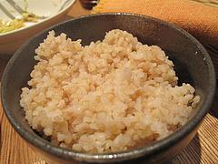料理:玄米ご飯@カレーうどん・黄福堂・高宮