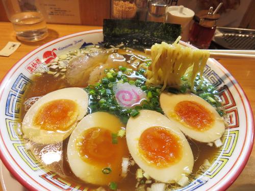 【福岡】港町風醤油ラーメン♪@気仙沼 かもめ食堂 キャナルシティ店