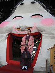 お多福門・節分@櫛田神社・博多2011