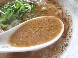 9辛味ラーメンスープ@くまちゃんラーメン