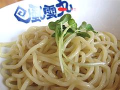 10ランチ:つけ麺の麺@濃厚つけ麺・風雲丸・福岡鶴田店