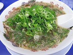 料理:背脂しょうゆラーメン600円@ラーメン来来亭・福岡空港東店