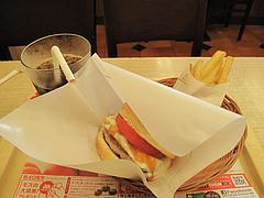 6ランチ:塩糀バーガーのセット@モスバーガー六本松店