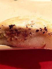 9料理:モチモチぎょうざ断面@博多っ子純情屋台・喜柳