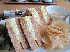 料理:サンドイッチアップ@カフェ・オットー・リバレイン博多