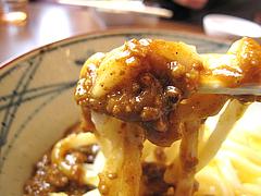 料理:キーマカレー釜玉カレー@丸亀製麺・西月隈店