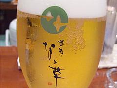 生ビール@福岡・西中洲・博多なゝ草