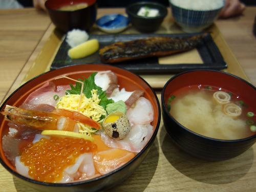 【福岡】天神コアで海鮮丼&魚定食ランチ♪@喜水亭 和樂 天神店
