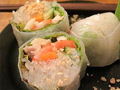料理:セットの生春巻@タイ料理オシャ・大橋