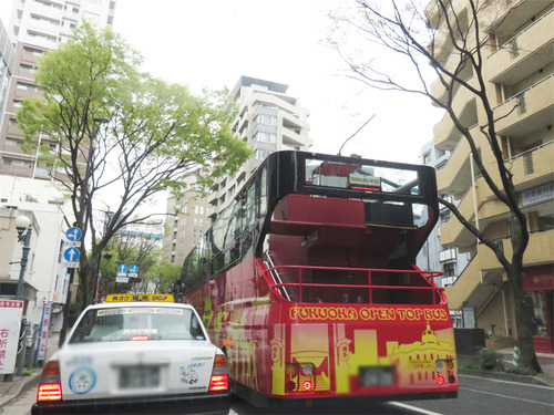 オープントップバス