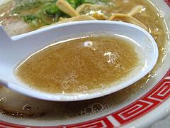 料理:赤のれんラーメンスープ@ラーメン居酒屋赤のれん&とん吉・箱崎