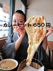 料理:ランチ食べる@インドレストラン・タージ・大橋
