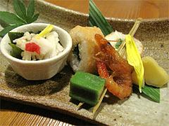 料理:おまかせコース1:いも焼酎@博多一梅(ひとばい)